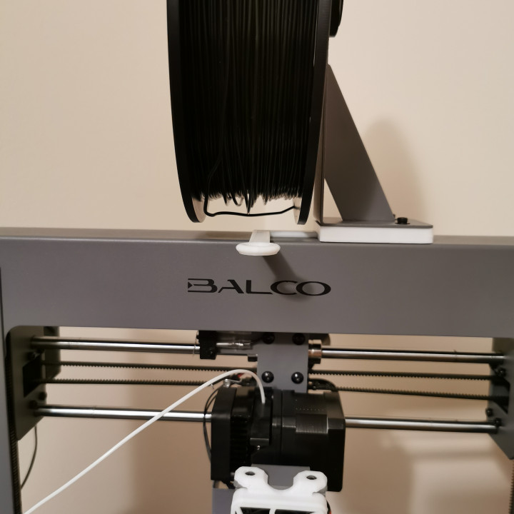 Simple Balco Touch/Duplicator i3 PLUS Filament guide and height extender