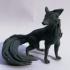 Mystic Three Tail Fox Miniature image