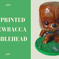Chewbacca BobbleHead PLA spring