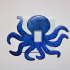 Octopus light switch cover image