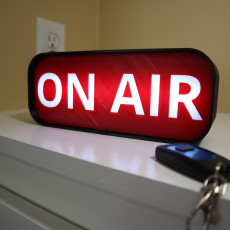 Remote ON AIR Light-Up Sign