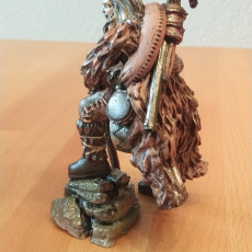 Picture of print of Frontiersman - Human Male Ranger (32mm scale miniature)