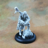 Frontiersman - Human Male Ranger (32mm scale miniature) image