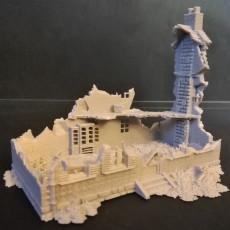 Destroyed House 2 - XVIII to XX period