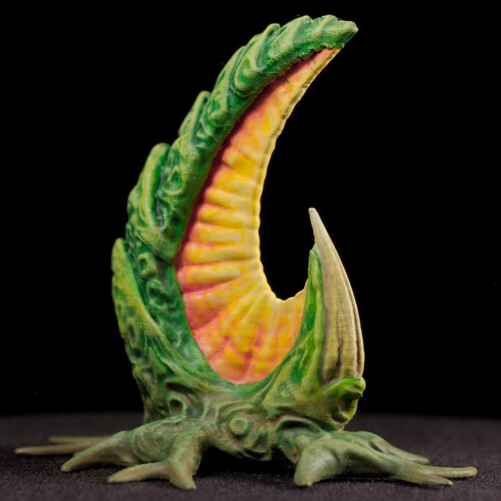 "Tabletop plant: ""ReapingHookPlant"" (Alien Vegetation 11)"