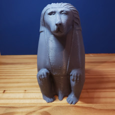 Picture of print of Animals for Sarcophagus Decoration - Monkey 2  (Modified Chin)