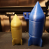 Screw Top Bomb and Rocket Containers print image