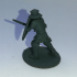 Foot Knight Miniature with shield and sword (28mm) image