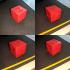 25.4mm XYZ Calibration Cube image