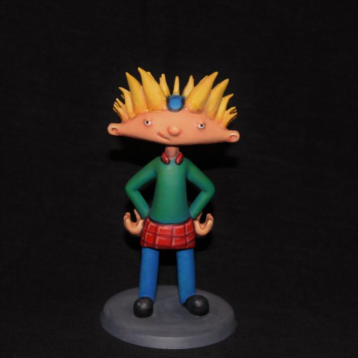 Hey,Arnold figure