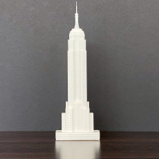 Picture of print of Empire State Building - New York City