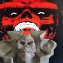 RED SKULL FAN ART print image