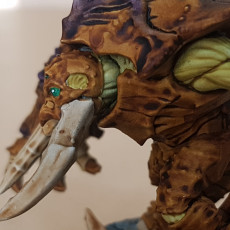 Picture of print of Slathos on Hive Colossus - Depth One Hero on Hive Colossus