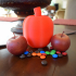 Apple Shaped Candy Dispenser image