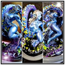 Zixrya - Beauty of the Depths (Fantasy Pin-Up)