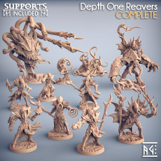 COMPLETE Depth One Reavers (presupported)