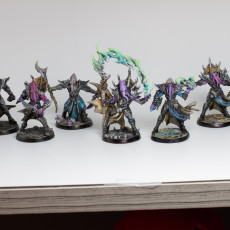 Picture of print of COMPLETE Depth One Reavers (presupported)
