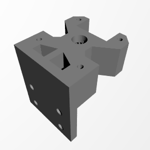 3D Printable JoJoOne Grub Screw Remover For Geared Extruders