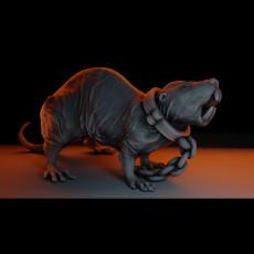 Manny the Monstrous Mole-Rat Tabletop Miniature (03)