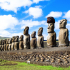 Easter Island Moais image