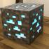 """8-Bit"" Minecraft Diamond Ore Lamp - Siri Enabled image"