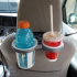 Seatback cup thermos holder (fits Toyota Sienna) image
