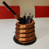 Pen or Tool Stand / Spring Design image