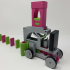 Pink and Green Domino Machine II image