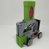 Pink and Green Domino Machine II image
