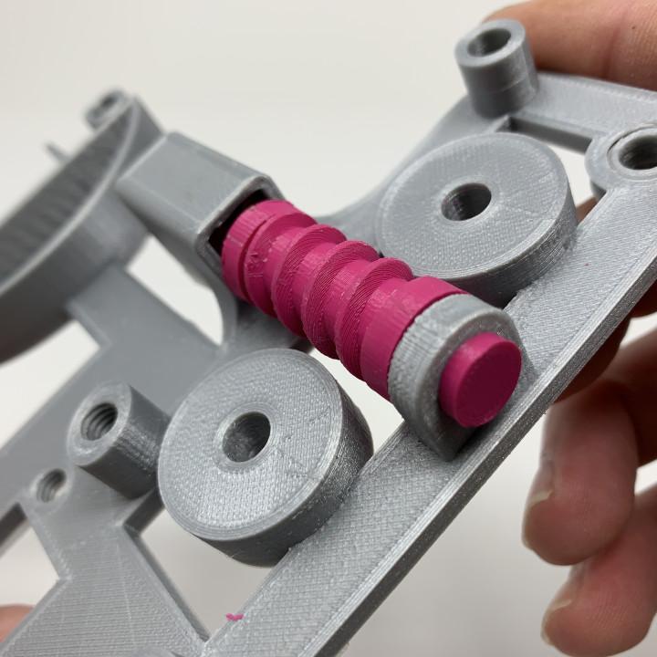 Pink and Green Domino Machine II