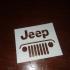Jeep Stencil image