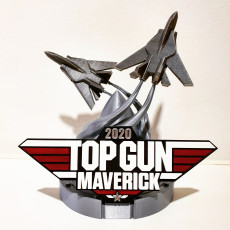 Picture of print of TOP GUN Tribute Stand