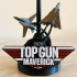 TOP GUN Tribute Stand print image