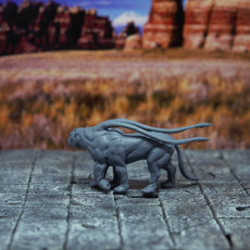 Picture of print of Displaced Beast - Tabletop Miniature