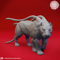 Displacer Beast - Tabletop Miniature