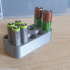 AA and AAA Battery Holder image
