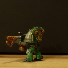 Picture of print of Space marine tactical squad with flamethrower - warhammer 40k
