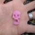 bowden tube clip skull image
