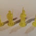 Knight Miniatures for Ravensburger Labyrinth Boardgame image