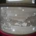 Christmas lithophane tier cake image