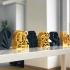 """URANIA"" - 3D printed sculpture image"