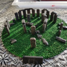Picture of print of Stonehenge