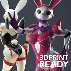 Sexy Space Bunny Girl