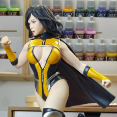 Picture of print of Female Superhero