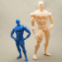 Articulated Poseable Male Figure image