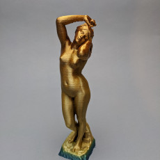 Picture of print of Le Réveil / Galatea (with arm)