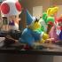 Magikoopa from Mario games print image