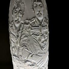Sgt. Pepper's Lithophane Vase