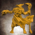 Human Male Wizard (32mm scale miniature) image