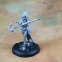 Human Female Wizard (32mm scale miniature) image